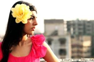 Yellow flower hair-clip @ Preciosa - 500