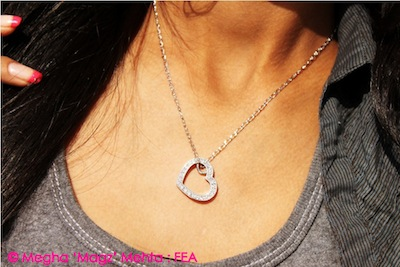 Heart shaped swarovski pendant - Guess, from my own collection