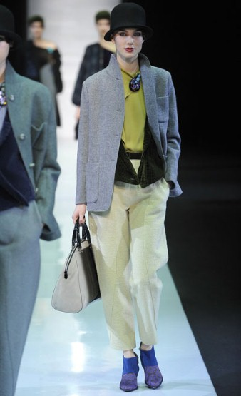 Emporio Armani @ Milan Fashion Week